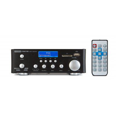 Amplificador Hi-Fi USB/SD/MP3-AS-22RUB-Fonestar