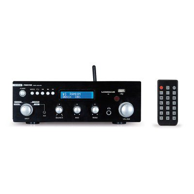 Amplificador estéreo BT/USB/SD/FM AS-25RUB Fonestar